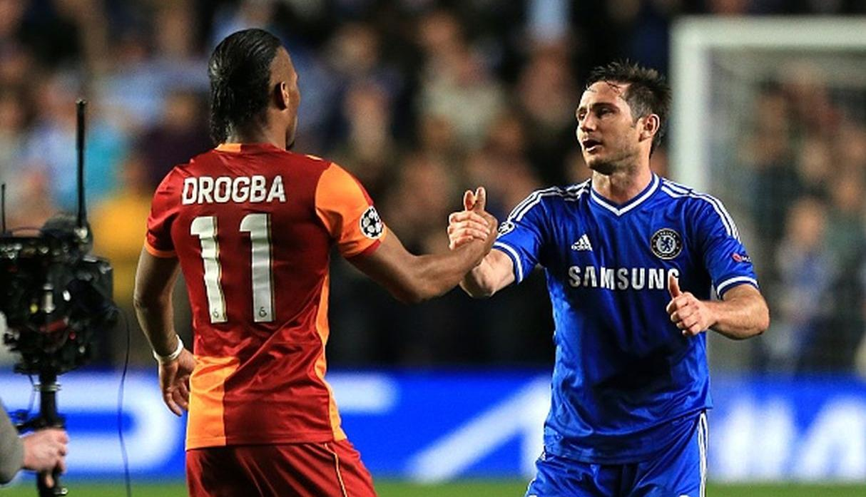 Drogba ante Chelsea. (Getty)