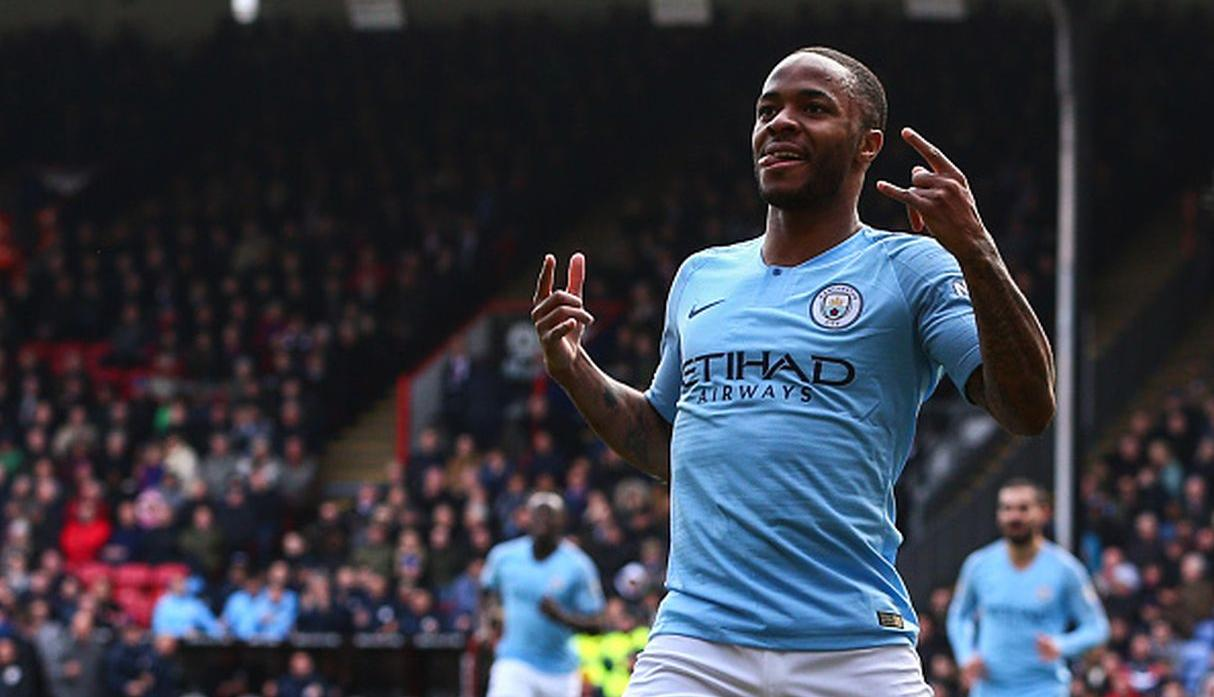 Raheem Sterling | Manchester City | Goles: 5. (Getty Images)