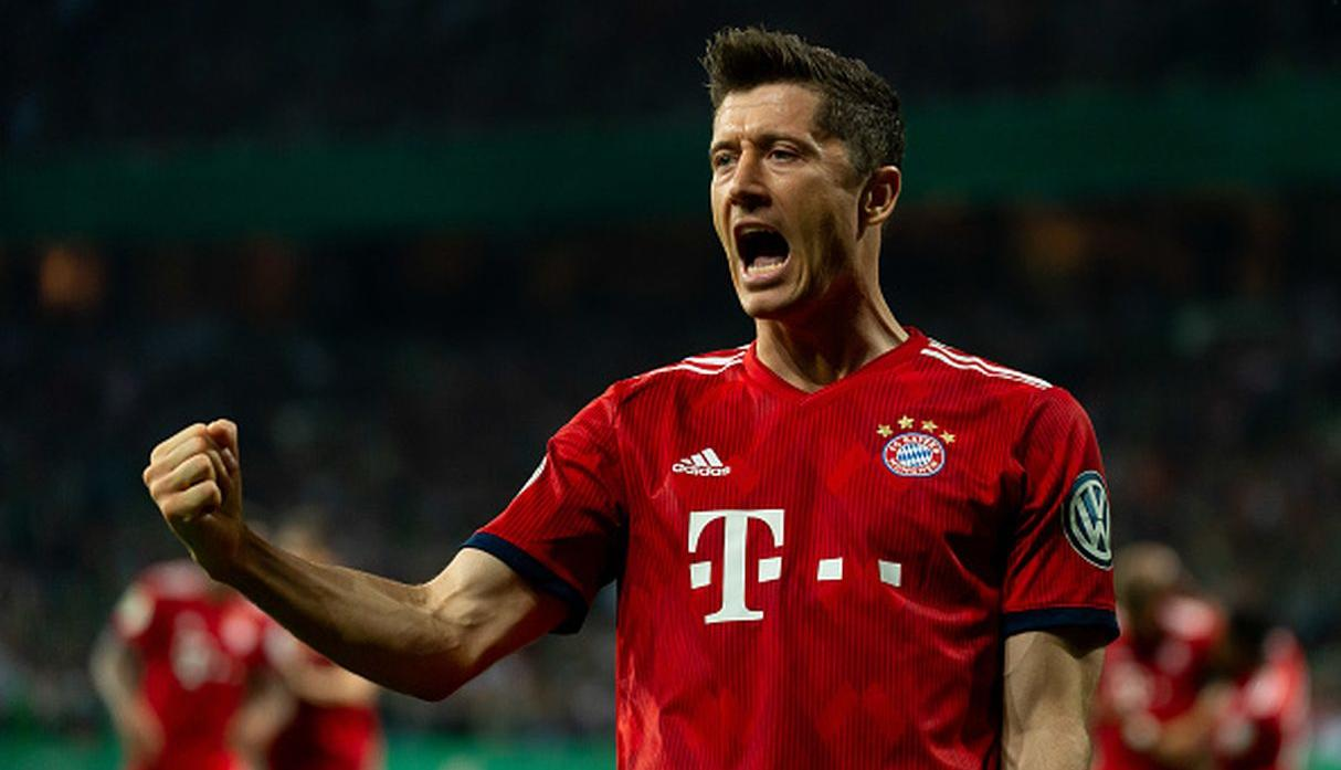 Robert Lewandowski | Bayern Munich | Goles: 8. (Getty Images)