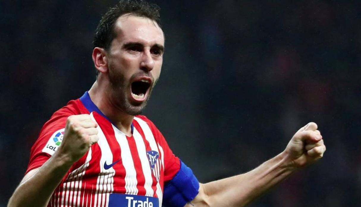 Diego Godín | Atlético Madrid. (Getty Images)