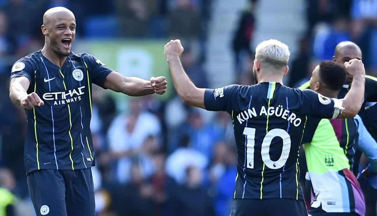 Manchester City campeón de la Premier League temporada 2017-18 (Foto: Reuters)