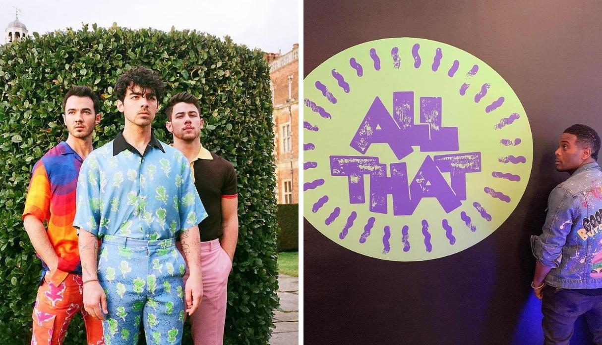 "Los Jonas Brothers interpretarán ""Sucker"" en el estreno del reboot de ""All That"" de Nickelodeon (Foto: @Nickelodeon)"