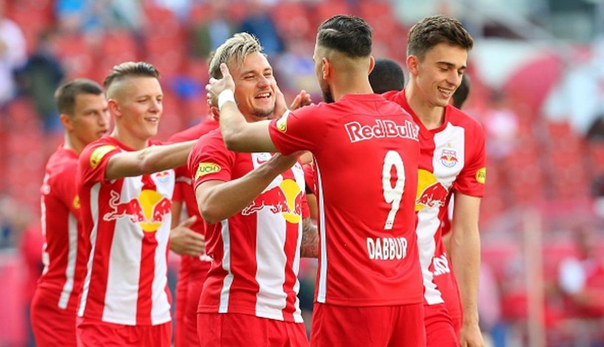 Red Bull Salzburg. (Getty Images)