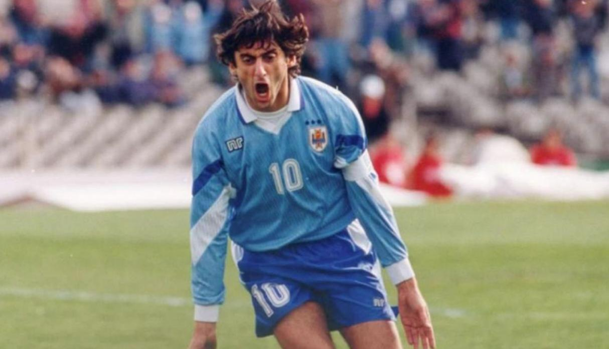 Enzo Francescoli | Uruguay. (Getty Images)