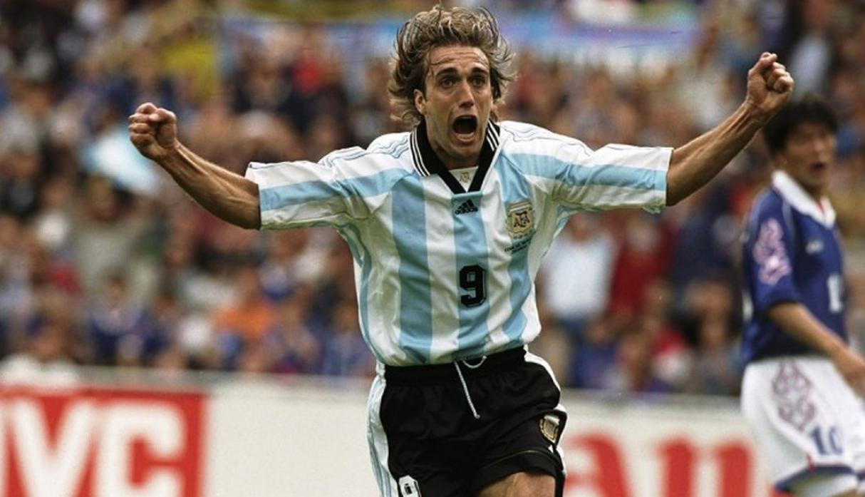 Gabriel Batistuta | Argentina. (Getty Images)
