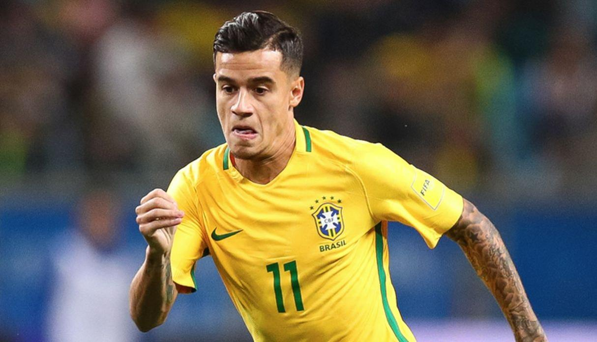 Philippe Coutinho | Brasil. (Getty Images)