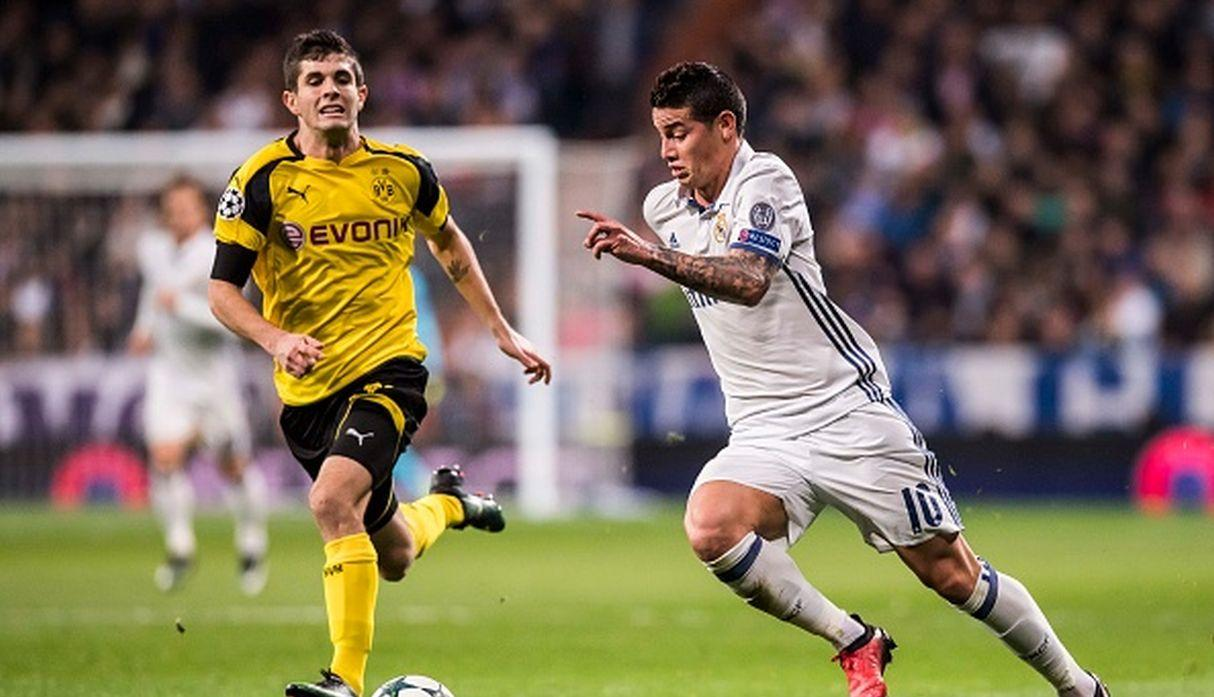 James Rodríguez. (Getty)