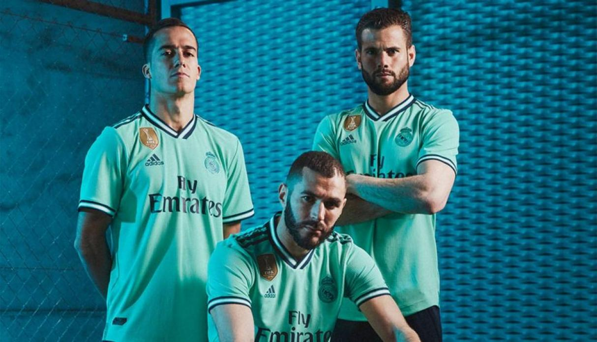 Presentan nuevo uniforme alternativo de color verde menta — Real Madrid
