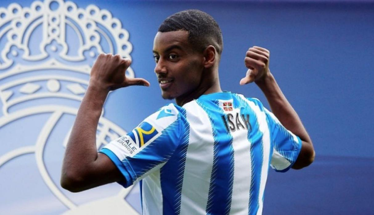 Alexander Isak | Real Sociedad. (Getty Images)