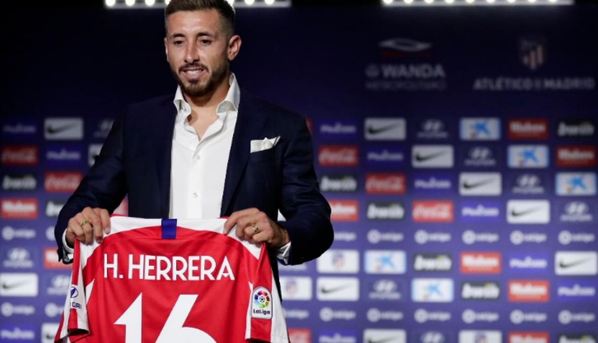 Héctor Herrera | Atlético de Madrid. (Getty Images)