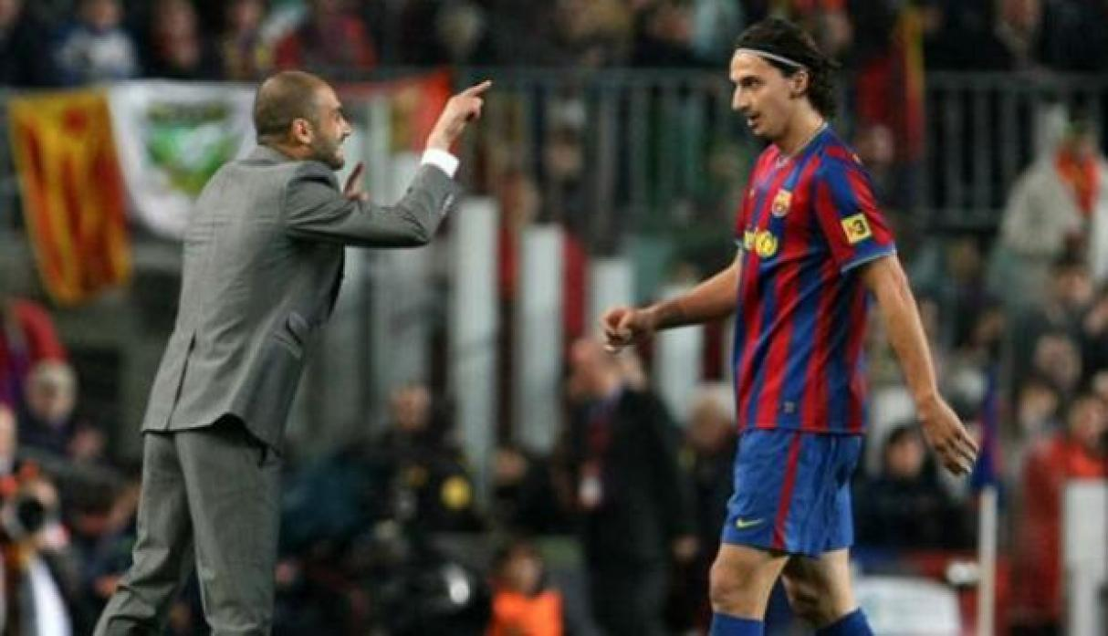 Guardiola vs Ibrahimovic