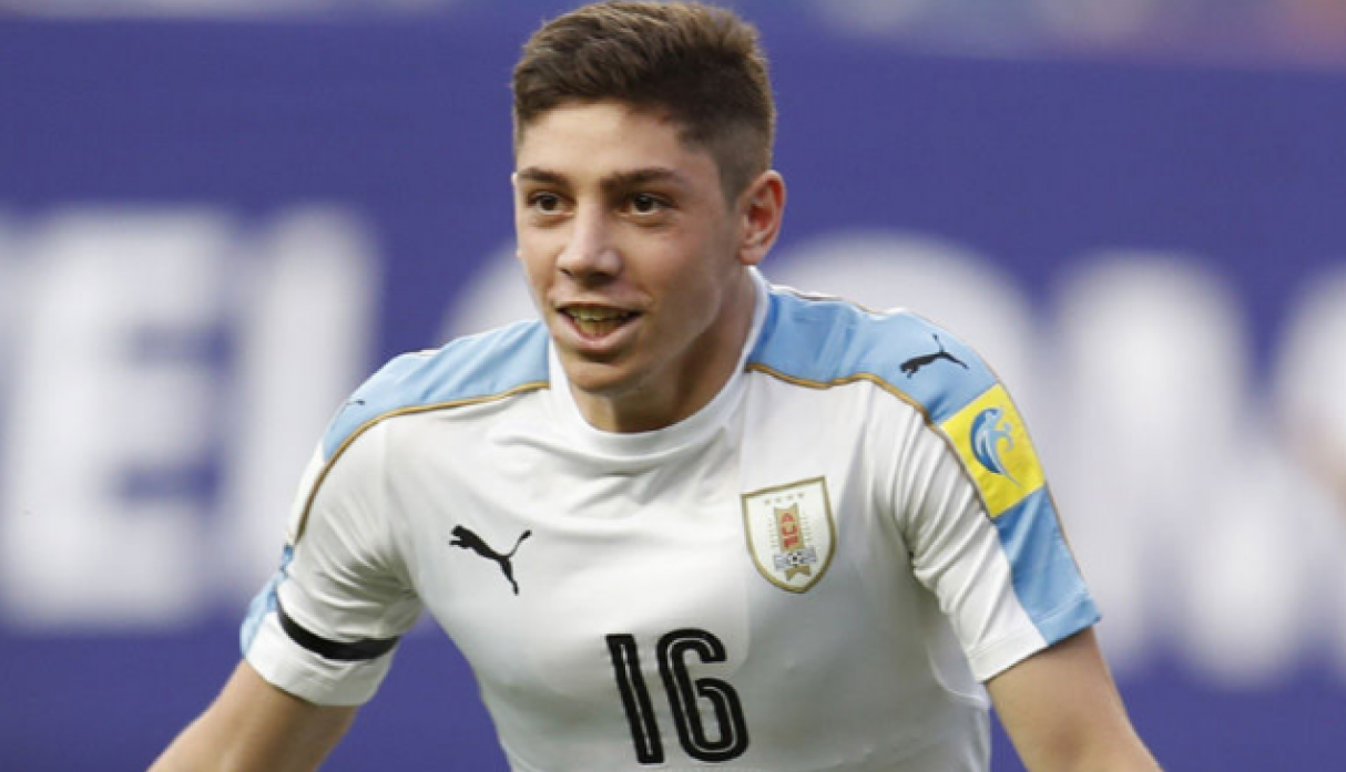 Federico Valverde | Uruguay. (Getty Images)