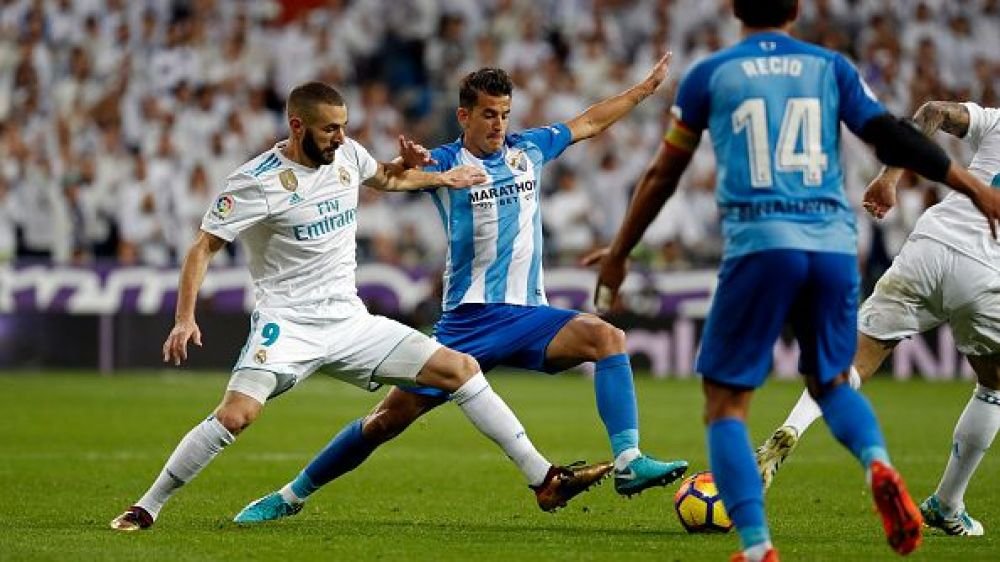 Real Madrid enfrenta a Málaga por la Liga Santander. (Getty)