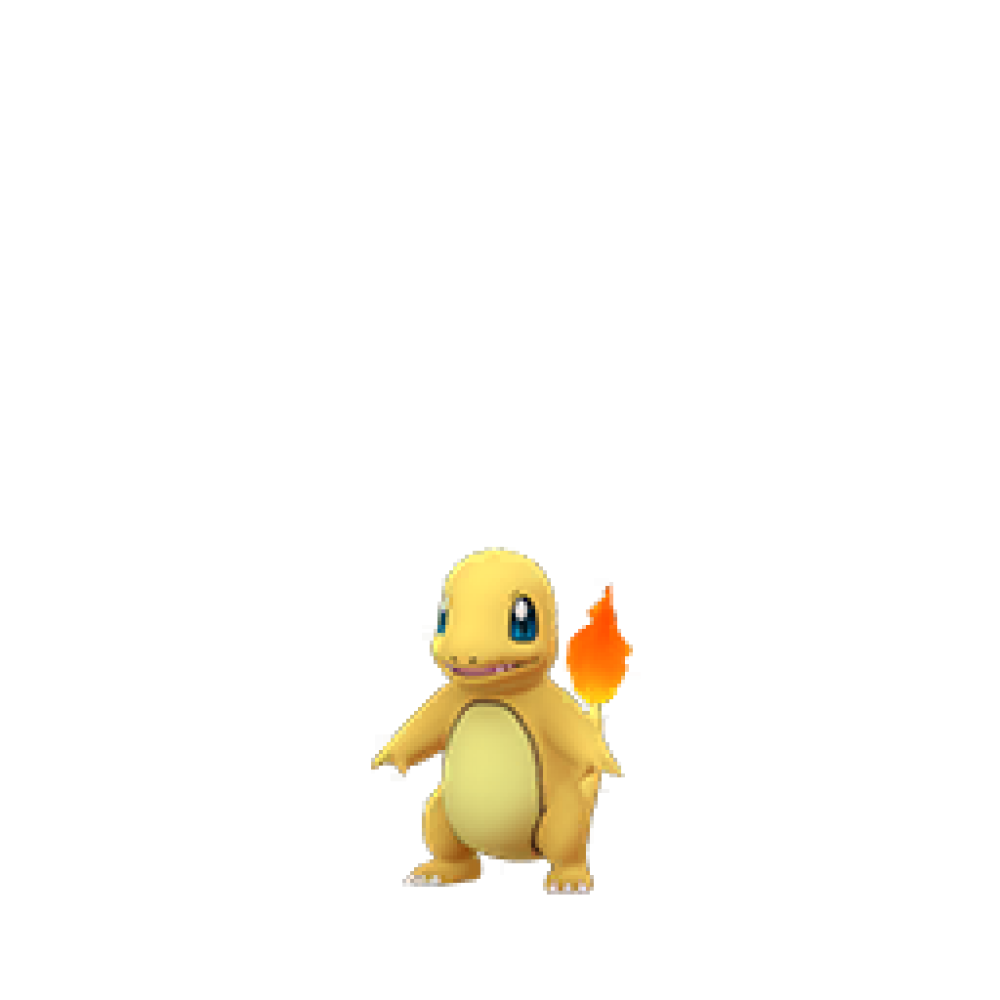 Shiny Charmander en Pokémon GO