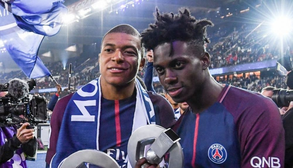 Image result for timothy weah mbappe