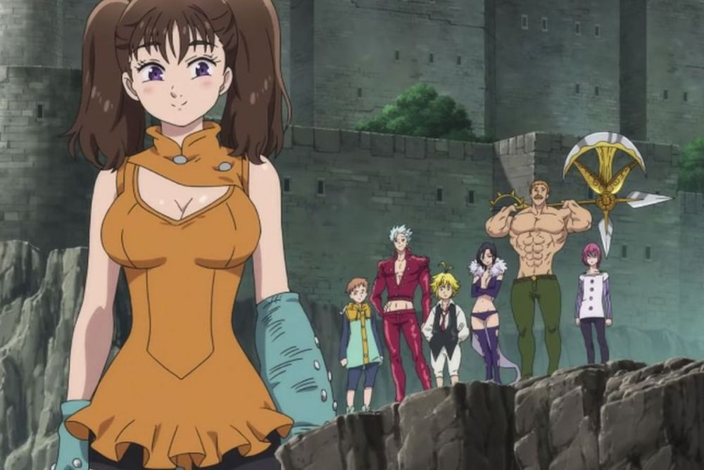 Seven Deadly Sins Wrath of the Gods