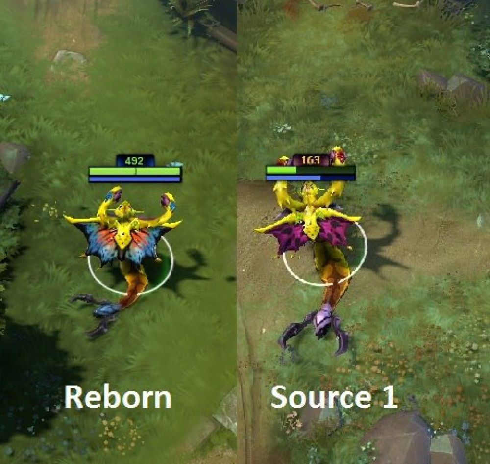 Dota 2: Source 1 vs Source 2