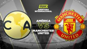 América vs. Manchester United EN VIVO: canales y horarios por la International Champions Cup en Phoneix