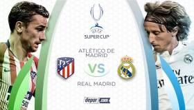 Real Madrid vs. Atlético de Madrid: chocan en Estonia por la Supercopa de España 2018