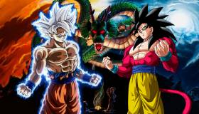 Dragon Ball Super: Goku Ultra Instinto cara a cara con el Super Saiyan 4 en las escalas de poder [VIDEO]