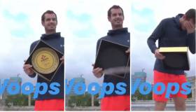 ¡No puede ser! El blooper que cometió Andy Murray al recibir una placa en su honor en China [VIDEO]