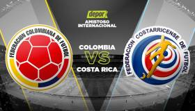 Colombia vs. Costa Rica EN VIVO: sigue el partido por Caracol en Estados Unidos