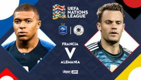 Francia vs Alemania juegan con Mbappé y Neuer: partidazo por la UEFA Nations League
