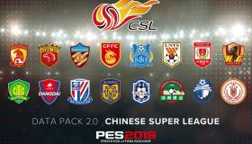 PES 2019 tendrá la Superliga China licenciada en el Data Pack 2.0