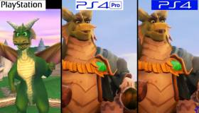 Spyro Reignited Trilogy cara a cara en sus diferentes versiones de PlayStation [VIDEO]