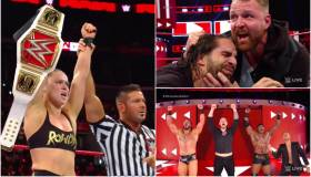 ¡Imperdible! Repasa los resultados de RAW posterior a Survivor Series 2018