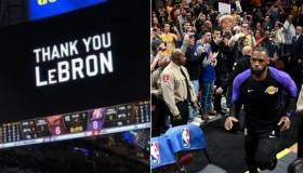 YouTube: LeBron James regresó a Cleveland con video tributo y conmovedora ovación [VIDEO]