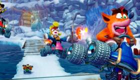 Crash Team Racing Nitro Fueled presenta la portada oficial del videojuego
