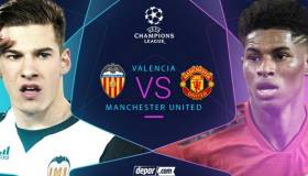 Hoy vía FOX Sports 2 y Movistar: Manchester United vs Valencia juegan en Mestalla por Champions League 2018