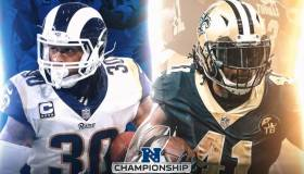 VER AHORA Saints vs Rams EN VIVO: sigue HOY EN DIRECTO la final de la Conferencia Nacional